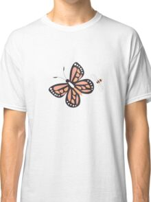Butterflies and bees 001 Classic T-Shirt