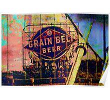 Grain Belt Beer Art Poster