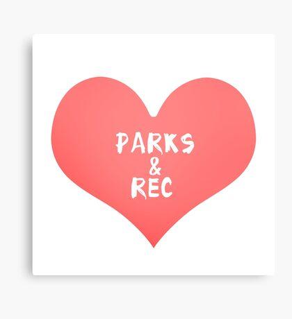 Parks & Rec Canvas Print