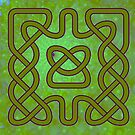 Celtic Green - a Celtic Knot design by Dennis Melling