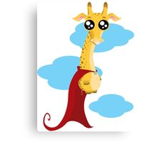 Hero Giraffe Canvas Print