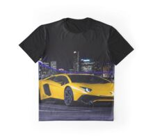 Lamborghini Aventador SV Coupe City Graphic T-Shirt