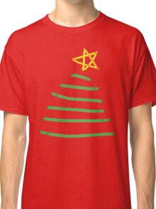 Simple Christmas tree Classic T-Shirt