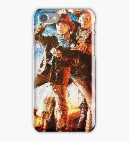 3 TO THE FUTURE iPhone Case/Skin