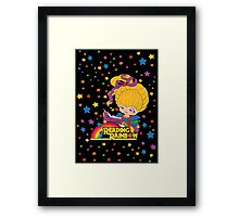 Reading Rainbow Brite Framed Print