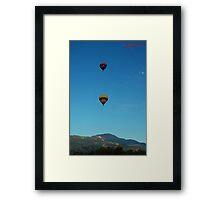 Mountain Jewels Framed Print