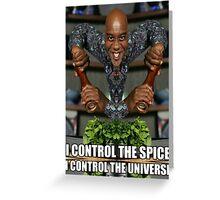 Ainsley Harriott - I Control The Spice Greeting Card