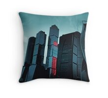 Moscow City Throw Pillow