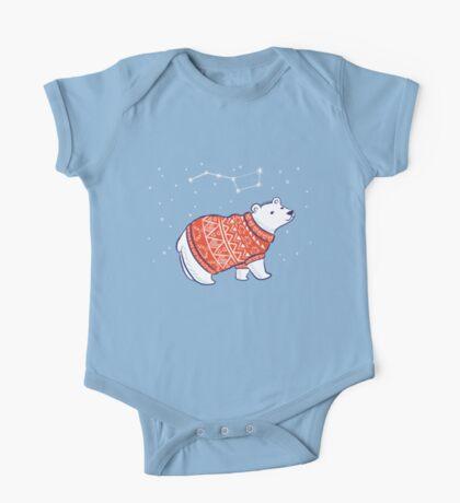 Polar bears One Piece - Short Sleeve