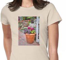Terra-Cotta Loveliness Womens Fitted T-Shirt