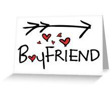 Boyfriend Greeting Card