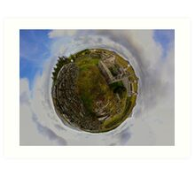 Ruins at Cashelnagor, County Donegal, Ireland Art Print