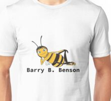 Barry B. Benson - Animation Text Design Unisex T-Shirt