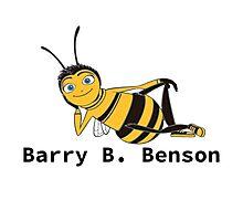 Barry B. Benson - Animation Text Design Photographic Print