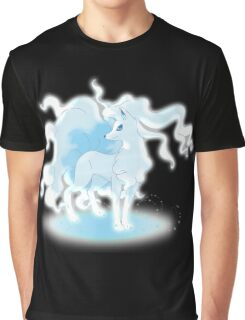 Glowing Ninetales Graphic T-Shirt
