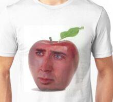 Nicolas Cage/Apple Unisex T-Shirt