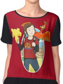 Ellie & Kazooie going on an Adventure. Chiffon Top