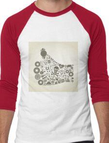 Hand a science2 Men's Baseball ¾ T-Shirt