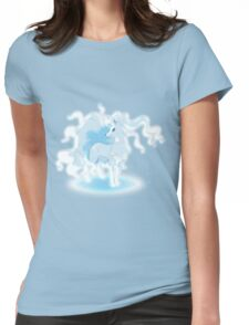 Glowing Ninetales Womens Fitted T-Shirt