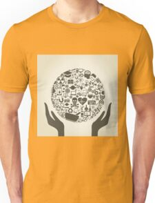 Hand a science3 Unisex T-Shirt