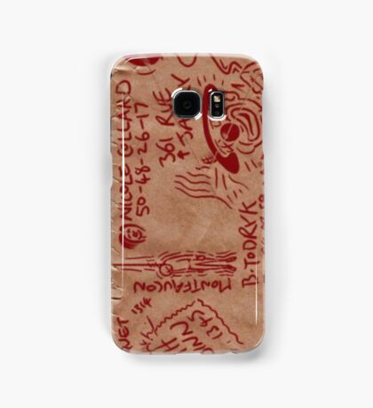Broken Sword Envelope Samsung Galaxy Case/Skin