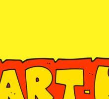 cartoon startup symbol Sticker