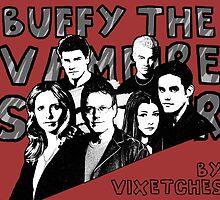 A Buffy Pop Art Calendar by Vixetches