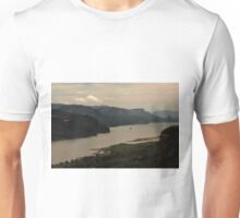 SOLD A T-SHIRT - Early Morning At Chanticleer Point Unisex T-Shirt