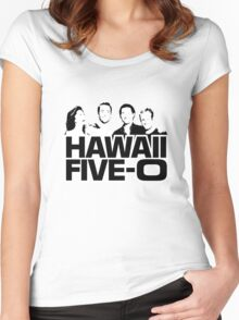 Hawaii Five-O: Time Out Women's Fitted Scoop T-Shirt