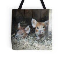 Cute Adorable Piggies Tote Bag