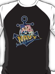 VARGA NAVY T-Shirt