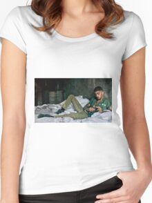 ZAYN MALIK - Photoshoot Women's Fitted Scoop T-Shirt