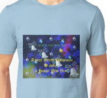 For all my RedBubble friends at Christmas - Card and Video Unisex T-Shirt