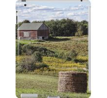Countryside in the approaching fall iPad Case/Skin