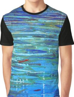 Reflections inspired by Monet Graphic T-Shirt
