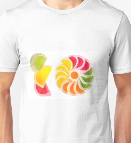 multicolored chewy gumdrops Unisex T-Shirt