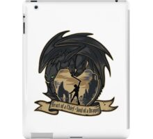Heart of a Chief, Soul of a Dragon iPad Case/Skin