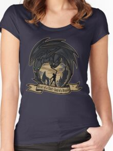 Heart of a Chief, Soul of a Dragon Women's Fitted Scoop T-Shirt