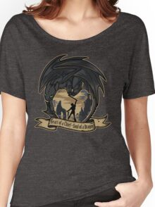 Heart of a Chief, Soul of a Dragon Women's Relaxed Fit T-Shirt