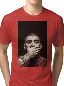 ZAYN MALIK - Photoshoot Colored by me Tri-blend T-Shirt
