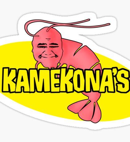 Kamekona's Shrimp Sticker