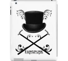 Top Hat and Canes T Shirt Black iPad Case/Skin