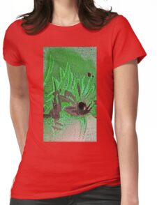 amongst the palms Womens Fitted T-Shirt