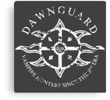 Dawnguard Vampire Hunting Canvas Print
