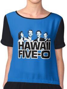 Hawaii Five-O: Time Out Chiffon Top
