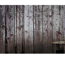 Wood Photographic Print