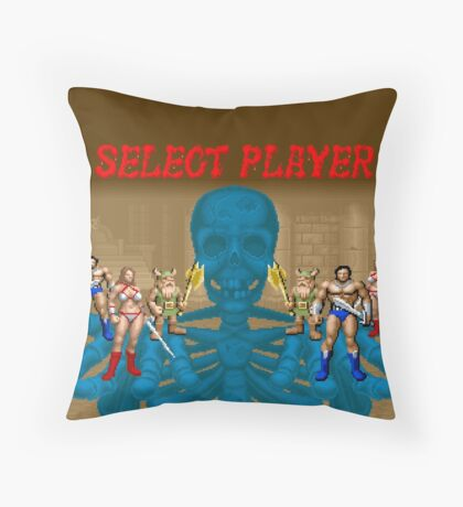 Golden Axe - Select Player Throw Pillow