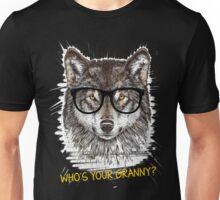 Nerd Wolf Who's your granny Unisex T-Shirt