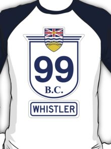 British Columbia 99 - Whistler T-Shirt