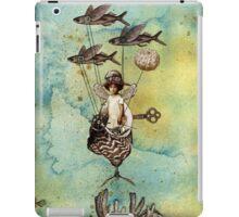 Flotilla - Amelie and Flying Fish iPad Case/Skin